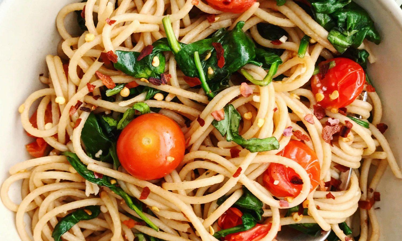Cherry Tomato Pasta Recipe reprents a quality Bertolli Olive Oil
