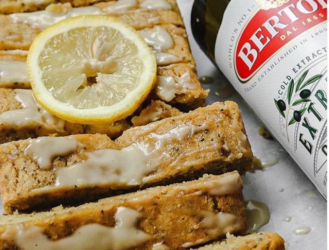 Lemon Orange Chia Seed Loaf with Bertolli Olive Oil