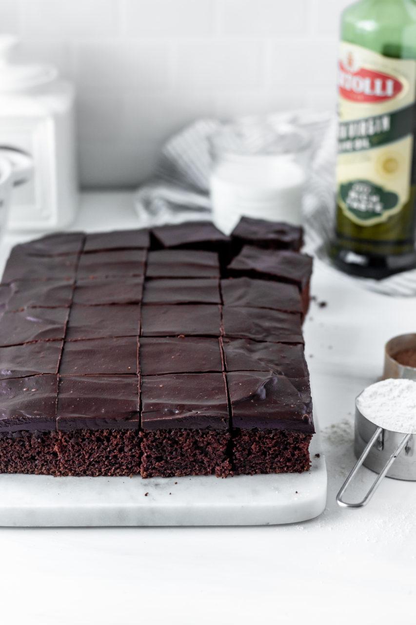 Olive Oil Cake with Bertolli