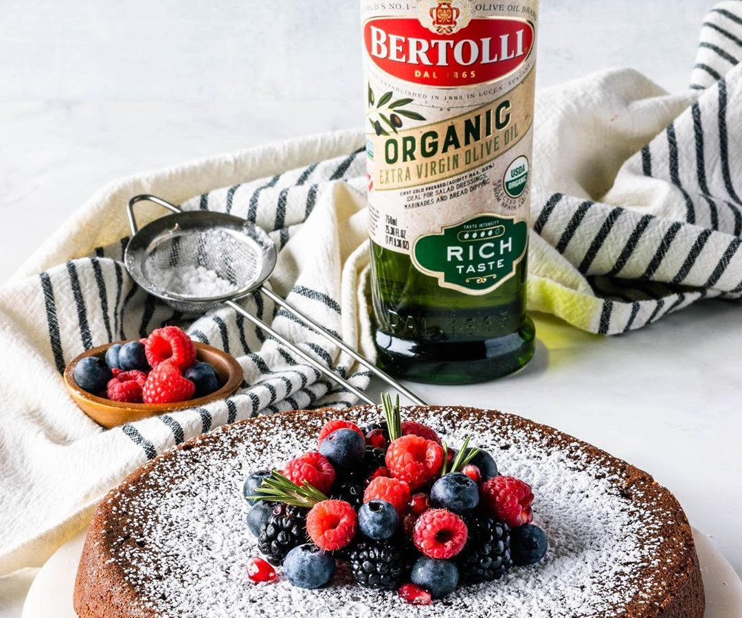 Olive Oil Chocolate Cake with Bertolli Olive Oil